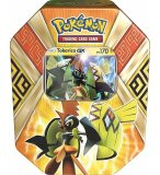 POKEBOX TOKORICO GX - GARDIENS DES ILES - CARTE A COLLECTIONNER POKEMON - BOITE METAL ORANGE