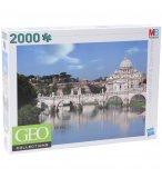 PUZZLE BASILIQUE SAINT PIERRE DU VATICAN / ITALIE 2000 PIECES - COLLECTION GEO - MB - 361622860