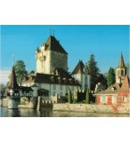 PUZZLE CHATEAU OBERHOFEN 500 PIECES - COLLECTION PAYSAGE DE SUISSE - KING - 501915