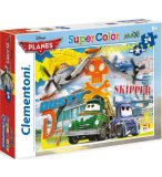 PUZZLE DISNEY AVIONS PLANES - 24 PIECES - PUZZLE SUPER COLOR MAXI - CLEMENTONI - 24441