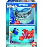 PUZZLE DISNEY NEMO FINDING 2 X 20 PIECES - EDUCA - 15603