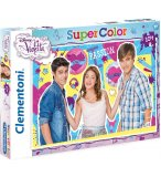 PUZZLE DISNEY VIOLETTA TOMAS & LEON - 104 PIECES - PUZZLE SUPER COLOR - CLEMENTONI - 27891
