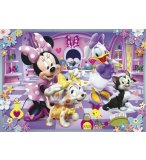 PUZZLE ENFANT DISNEY - MINNIE - 2 X 20 PIECES - CLEMENTONI - 24724