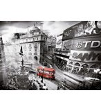 PUZZLE PICCADILLY CIRCUS 1000 PIECES - COLLECTION NOIR ET BLANC - EDUCA - 15981