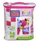 SAC MEDIUM ROSE 60 BLOCS MAXI - MEGA BLOKS - 8417 - JEU DE CONSTRUCTION