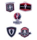 SET DE 5 PINS FRANCE EURO 2016 - FOOTBALL - COUPE - PINS UEFA