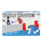 SET DE TENNIS DE TABLE PORTABLE ET ADAPTABLE - JEU PING PONG