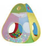 TENTE CABANE A BALLES BRODY + 100 BALLES - KNORRTOYS - 55305 - TENTE POP UP BEBE