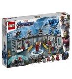 LEGO AVENGERS 76125 LA SALLE DES ARMURES D'IRON MAN