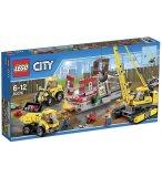 LEGO CITY 60076 LE CHANTIER DE DEMOLITION