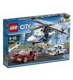 LEGO CITY 60138 LA COURSE-POURSUITE EN HELICOPTERE