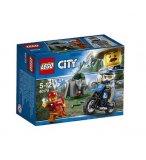 LEGO CITY 60170 LA POURSUITE EN MOTO TOUT-TERRAIN