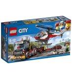 LEGO CITY 60183 LE TRANSPORTEUR D'HELICOPTERE