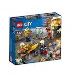 LEGO CITY 60184 L'EQUIPE MINIERE