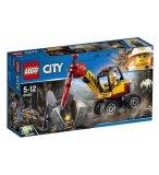 LEGO CITY 60185 L'EXCAVATRICE AVEC MARTEAU-PIQUEUR