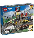 LEGO CITY 60198 LE TRAIN DE MARCHANDISES TELECOMMANDE
