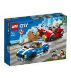 LEGO CITY 60242 LA COURSE-POURSUITE SUR L'AUTOROUTE
