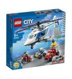 LEGO CITY 60243 L'ARRESTATION EN HELICOPTERE