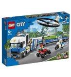 LEGO CITY 60244 LE TRANSPORT DE L'HELICOPTERE DE LA POLICE