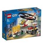 LEGO CITY 60248 L'INTERVENTION DE L'HELICOPTERE DES POMPIERS