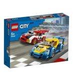 LEGO CITY 60256 LES VOITURES DE COURSE