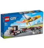 LEGO CITY 60289 LE TRANSPORT D'AVION DE VOLTIGE