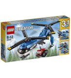 LEGO CREATOR 31049 L'HELICOPTERE A DOUBLE ROTOR