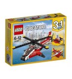 LEGO CREATOR 31057 L'HELICOPTERE ROUGE