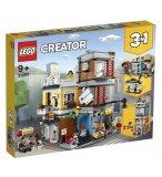 LEGO CREATOR 31097 L'ANIMALERIE ET LE CAFE