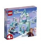 LEGO DISNEY FROZEN 43194 LE MONDE FEERIQUE D'ANNA ET ELSA DE LA REINE DES NEIGES