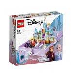LEGO DISNEY FROZEN II 43175 LES AVENTURES D'ANNA ET ELSA DANS UN LIVRE DE CONTES