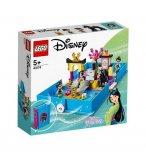 LEGO DISNEY PRINCESS 43174 LES AVENTURES DE MULAN DANS UN LIVRE DE CONTES