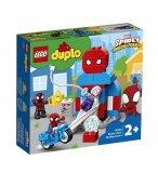 LEGO DUPLO MARVEL 10940 LE QG DE SPIDER-MAN