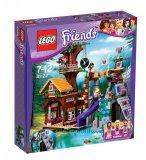 LEGO FRIENDS 41122 LA CABANE DE LA BASE D'AVENTURE