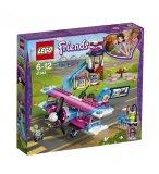 LEGO FRIENDS EXCLUSIVITE 41343 LA VISITE EN AVION D'HEARTLAKE CITY