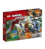 LEGO JUNIORS JURASSIC WORLD 10756 LA FUITE DU PTERANODON