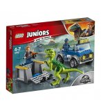 LEGO JUNIORS JURASSIC WORLD 10757 LE CAMION DE SECOURS DES RAPTORS