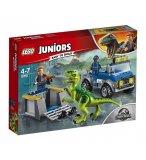 LEGO JUNIORS JURASSIC WORLD 10757 LE CAMION DE SECOURS DES RAPTORS