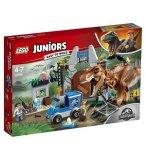 LEGO JUNIORS JURASSIC WORLD 10758 L'EVASION DU TYRANNOSAURE