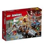 LEGO JUNIORS LES INDESTRUCTIBLES 2 10760 LE BRAQUAGE D'UNE BANQUE DU DEMOLISSEUR