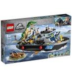 LEGO JURASSIC WORLD 76942 L'EVASION EN BATEAU DU BARYONYX