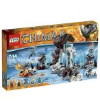 LEGO LEGENDS OF CHIMA 70226 LA FORTERESSE GLACEE DU MAMMOUTH