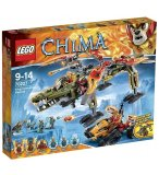 LEGO LEGENDS OF CHIMA 70227 LE SAUVETAGE DU ROI CROMINUS
