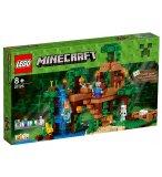 LEGO MINECRAFT 21125 LA CABANE DANS L'ARBRE DE LA JUNGLE