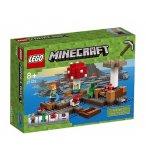 LEGO MINECRAFT 21129 LE BIOME CHAMPIGNON
