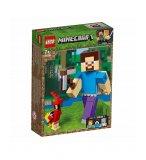 LEGO MINECRAFT 21148 BIGFIGURINE STEVE ET SON PERROQUET