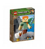 LEGO MINECRAFT 21149 BIGFIGURINE ALEX ET SON POULET