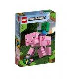 LEGO MINECRAFT 21157 BIGFIGURINE COCHON ET BEBE ZOMBIE
