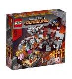 LEGO MINECRAFT 21163 LA BATAILLE DE LA PIERRE ROUGE