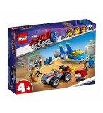 LEGO MOVIE 2 70821 L'ATELIER CONSTRUIRE ET REPARER D'EMMET ET BENNY